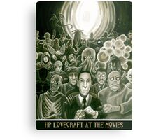 HP Lovecraft At The Movies Metal Print