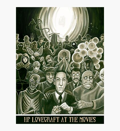 HP Lovecraft At The Movies Photographic Print
