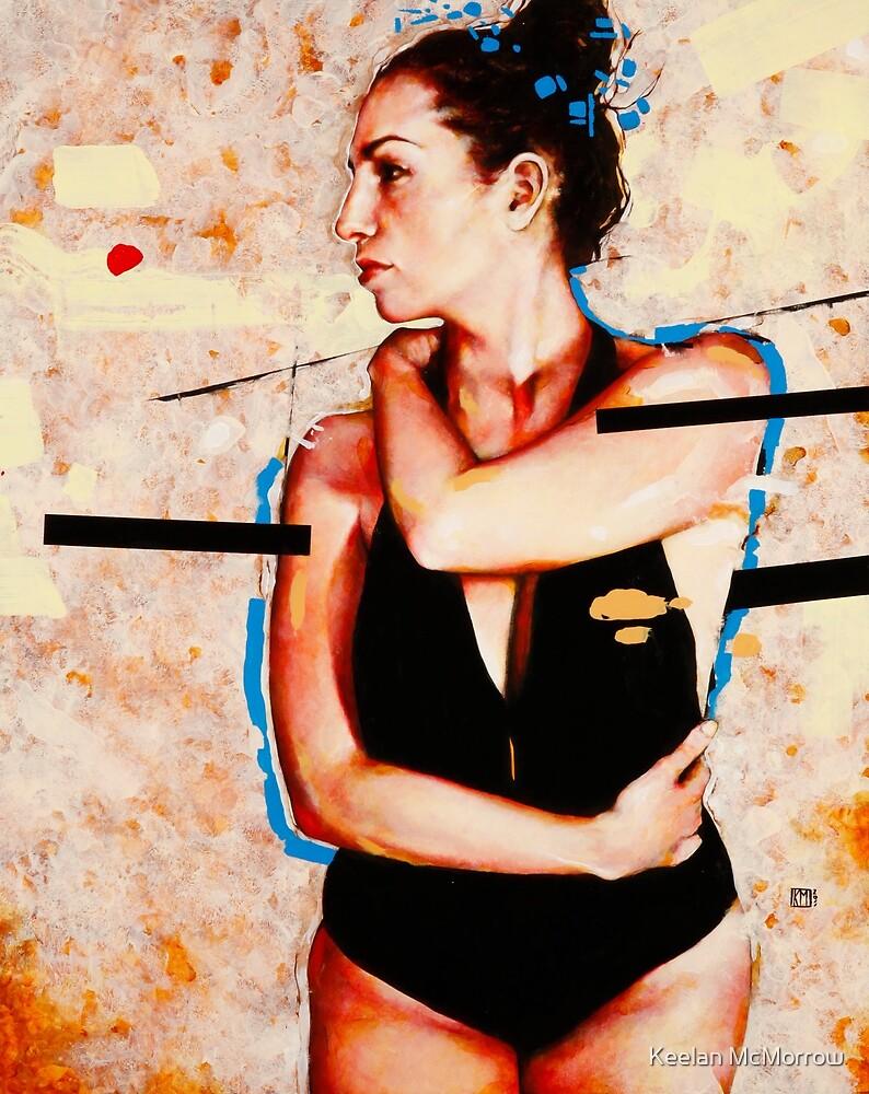 Woman In Blue by Keelan McMorrow