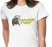 Badger Fury Womens Fitted T-Shirt