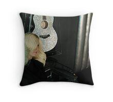 Madonna, Madame Tussauds NYC Throw Pillow
