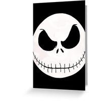 Jack Skeleton Greeting Card