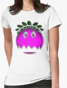 Goo Goo Eyes Womens Fitted T-Shirt