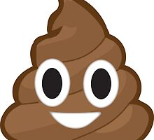 Poop Emoji Sticker by redcow