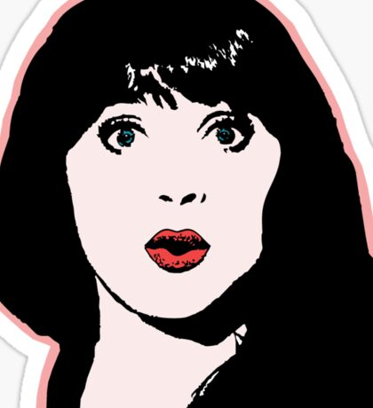 Zooey Sticker