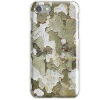 green wooden pattern iPhone Case/Skin