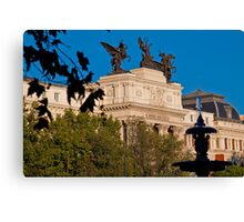 Spain. Madrid. Ministry of Agriculture. Canvas Print