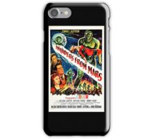 Invaders from Mars iPhone Case/Skin