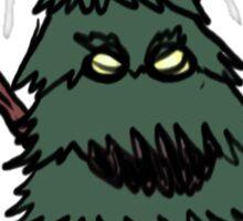 Evil Pine Tree Sticker