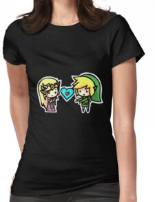 Link and Zelda Womens Fitted T-Shirt