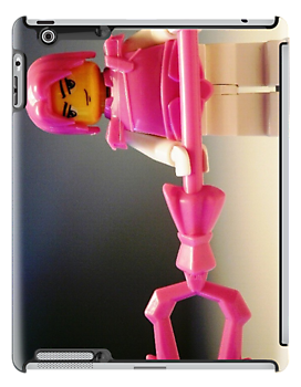 Pink Chinese Hero Warrior Custom LEGO® Minifigure, by 'Customize My Minifig' by Chillee