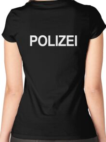 Polizei Women's Fitted Scoop T-Shirt