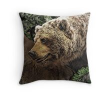 Grizz Throw Pillow