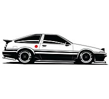 Driver Apparel - AE86 Photographic Print