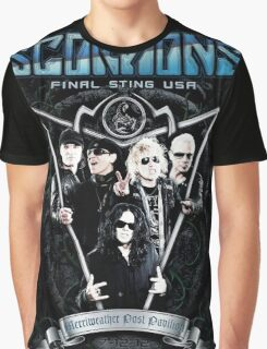 SCORPIONS STING USA Graphic T-Shirt