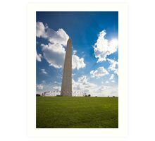 The Washington Monument Art Print