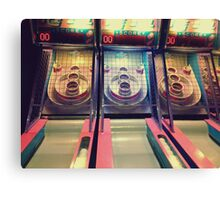 Skee Ball Canvas Print