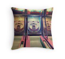Skee Ball Throw Pillow