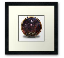 Dragonslayer Pantheon - League of Legends Framed Print