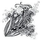 doubleye sketch by penn gregory