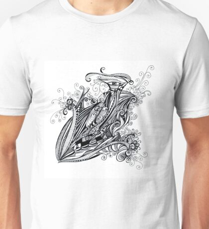 doubleye sketch Unisex T-Shirt