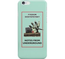Notes From Underground Zombie iPhone Case/Skin