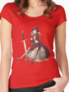 Anna Fire Emblem Design Women's Fitted Scoop T-Shirt
