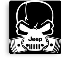 Jeep Pistons Canvas Print