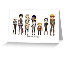 Dragon Age II Party Greeting Card