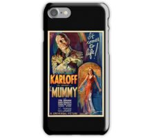 Mummy - Boris Karloff iPhone Case/Skin