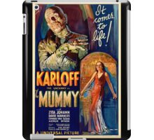 Mummy - Boris Karloff iPad Case/Skin