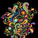 FlowerPower - Black by axemangraphics