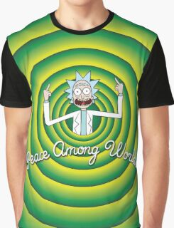 Peace among worlds, Folks! Graphic T-Shirt