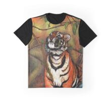 Baby tiger is playing Graphic T-Shirt