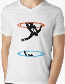Draper Falls Mens V-Neck T-Shirt