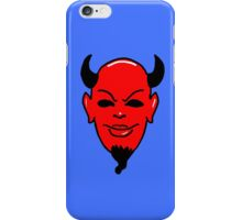Red Devil blue (Scream Queens) iPhone Case/Skin