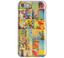 COLORFUL INDECISION 1 - Bold Bright Beautiful Abstract Acrylic Painting Collection Nature Rainbow iPhone Case/Skin