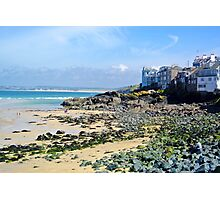 St Ives Rocky Beach Photographic Print