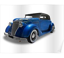 Buick - 1936 Convertable Coupe Poster