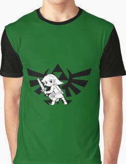 Link and Triforce Graphic T-Shirt