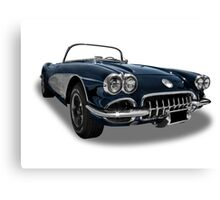 Chevrolet - 1958 Corvette C1 Convertable Canvas Print