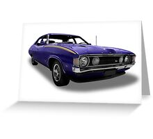 Ford - 1972 XA GS Falcon Greeting Card