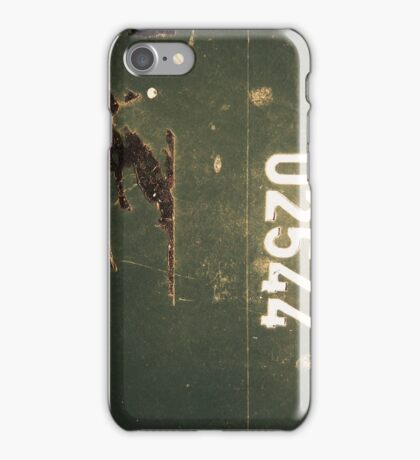 Grungy Numbers iphone/ipod case iPhone Case/Skin