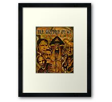 The Golden Dawn Framed Print