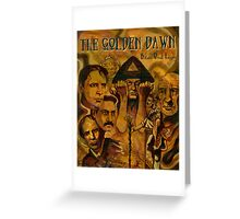 The Golden Dawn Greeting Card
