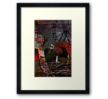 Underneath the Insideout Framed Print