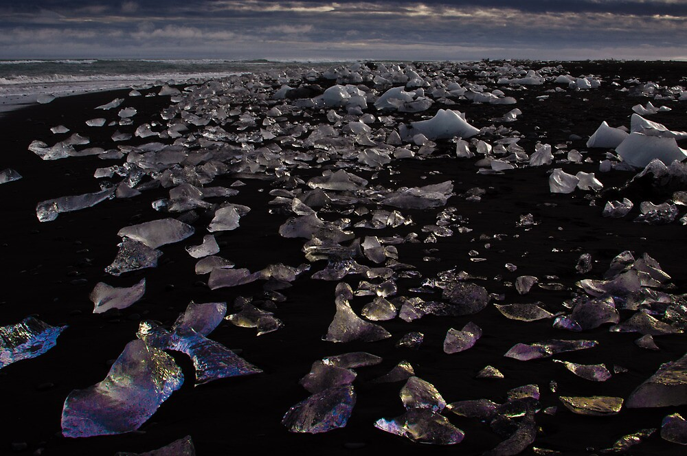 Diamonds on the Beach by Dean Bailey