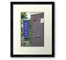 Police Station at the Rocks Framed Print
