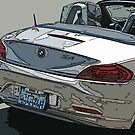 BMW Z4 Rear Study by Samuel Sheats