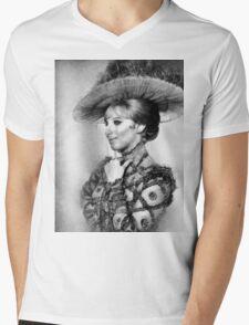 Barbara Streisand by John Springfield Mens V-Neck T-Shirt